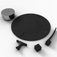 KIT-MA3. Комплект адаптеров для установки 3-компонетных датчиков.